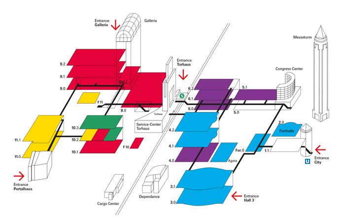 Auraton - ISH 2015 - Plan targów